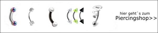 Informationen zum Thema Augenbrauenpiercing