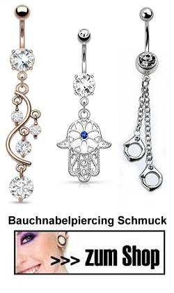 Große Auswahl an Piercingschmuck
